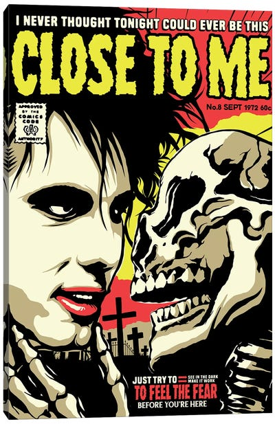 Close To Me Canvas Art Print