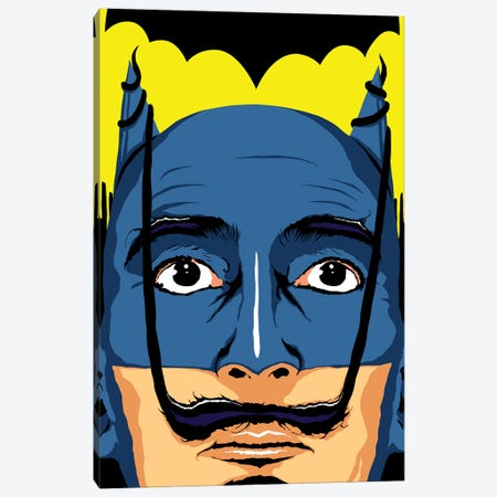 Dali Batman Canvas Print #BBY118} by Butcher Billy Canvas Art Print