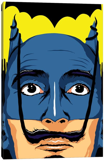 Dali Batman Canvas Art Print