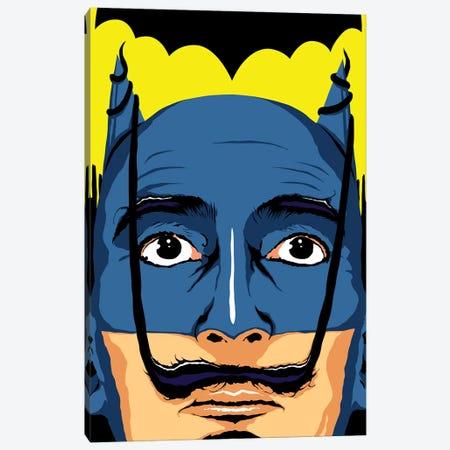 Dali Batman Canvas Print #BBY118} by Butcher Billy Canvas Art Print