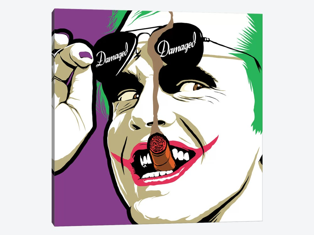 Damaged Sunglasses by Butcher Billy 1-piece Canvas Art Print