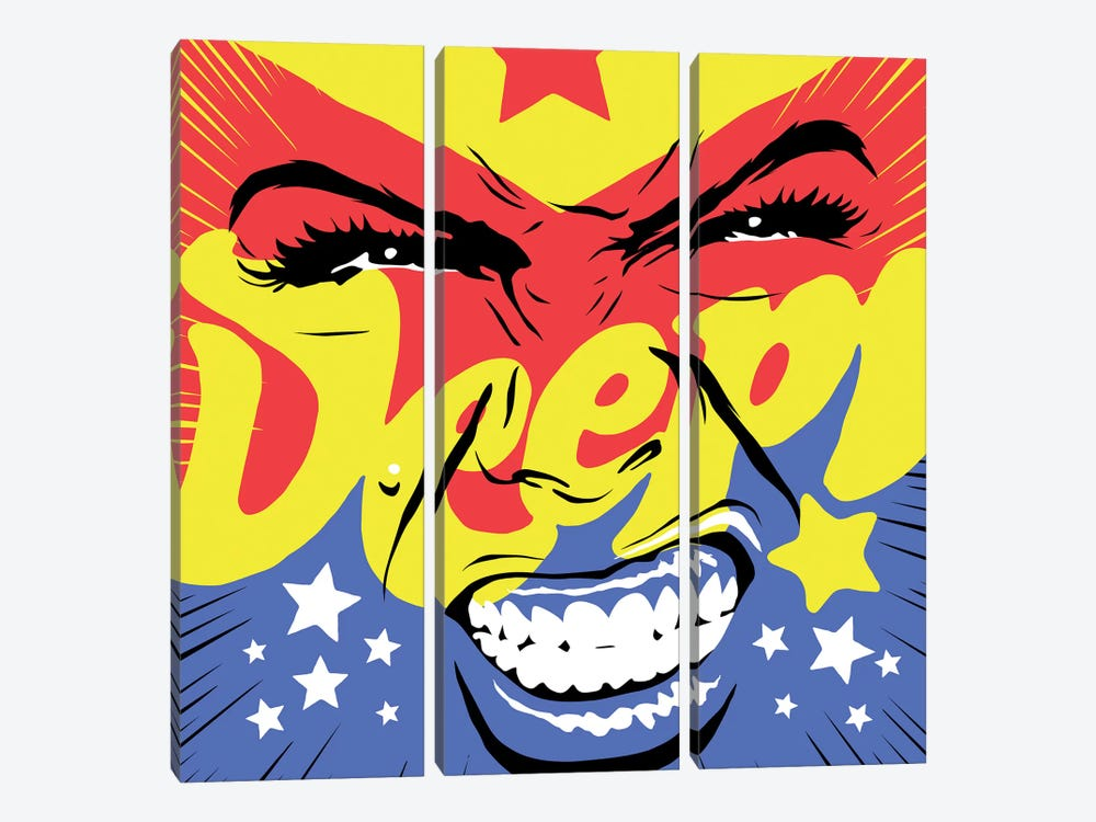 Deep Wonder by Butcher Billy 3-piece Canvas Art Print