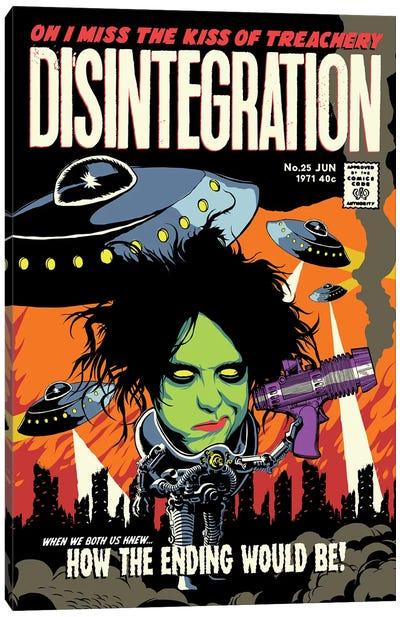 Disintegration Canvas Art Print