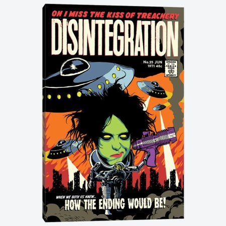 Disintegration Canvas Print #BBY121} by Butcher Billy Canvas Art