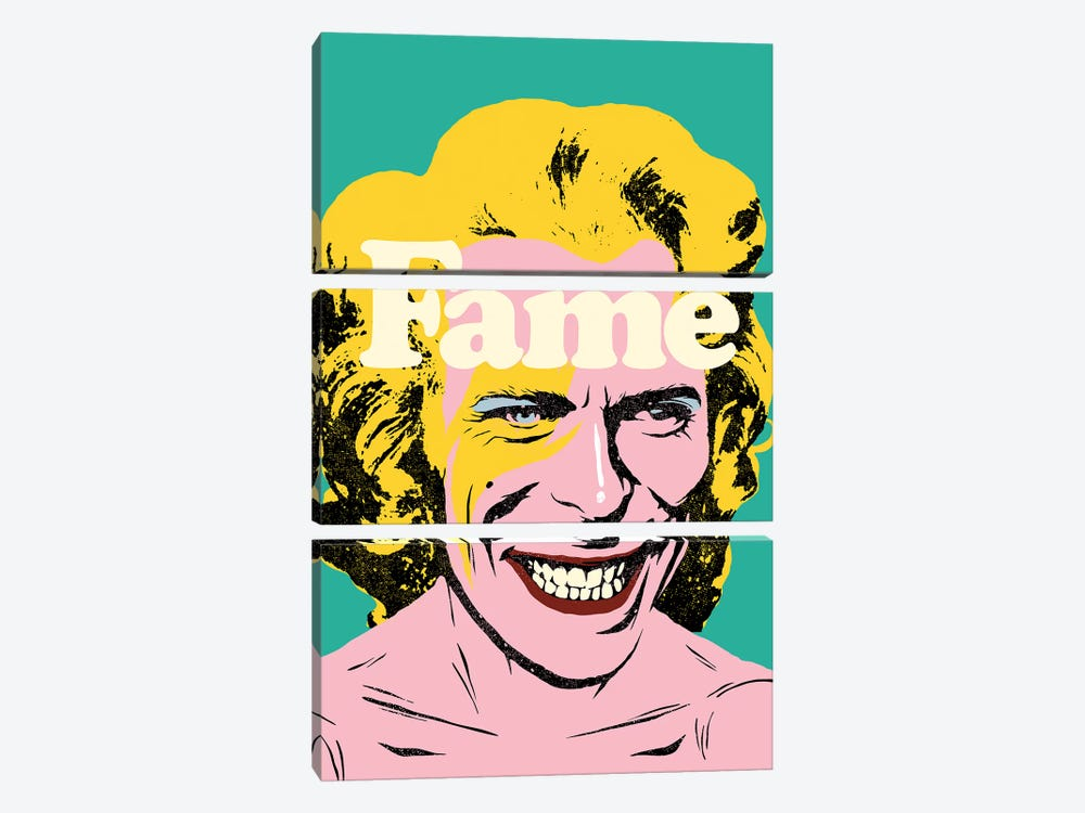 Fame by Butcher Billy 3-piece Canvas Art Print