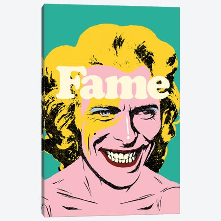 Fame Canvas Print #BBY122} by Butcher Billy Canvas Artwork