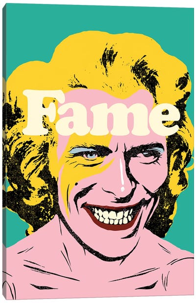 Fame Canvas Art Print