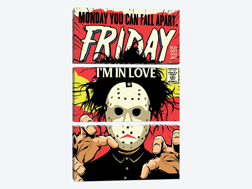 Friday by Butcher Billy 3-piece Canvas Artwork