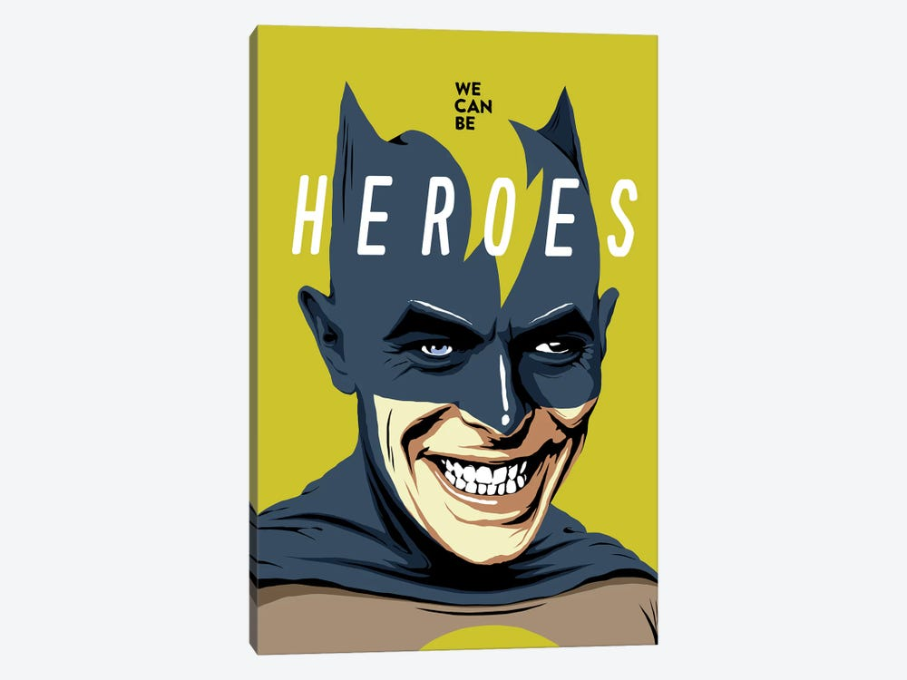 Heroes by Butcher Billy 1-piece Canvas Print