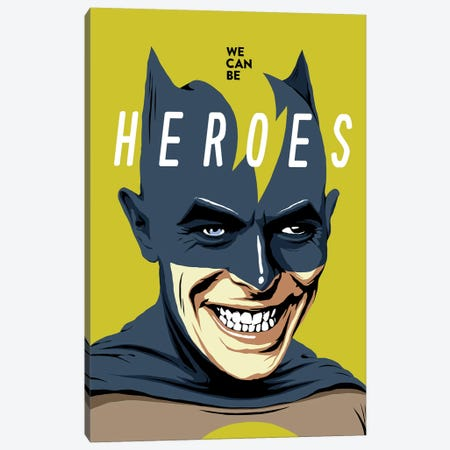 Heroes Canvas Print #BBY126} by Butcher Billy Art Print