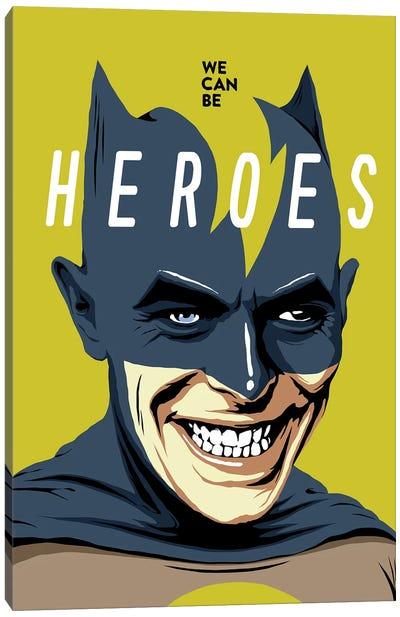 Heroes Canvas Art Print