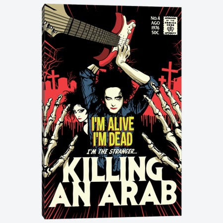 Killing Canvas Print #BBY129} by Butcher Billy Canvas Artwork