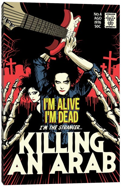 Killing Canvas Art Print