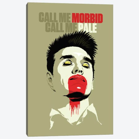 Call Me Morbid Call Me Pale Canvas Print #BBY12} by Butcher Billy Canvas Wall Art