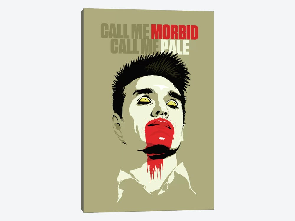 Call Me Morbid Call Me Pale by Butcher Billy 1-piece Canvas Art