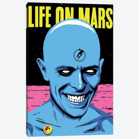 Life On Mars Canvas Print #BBY132} by Butcher Billy Canvas Print