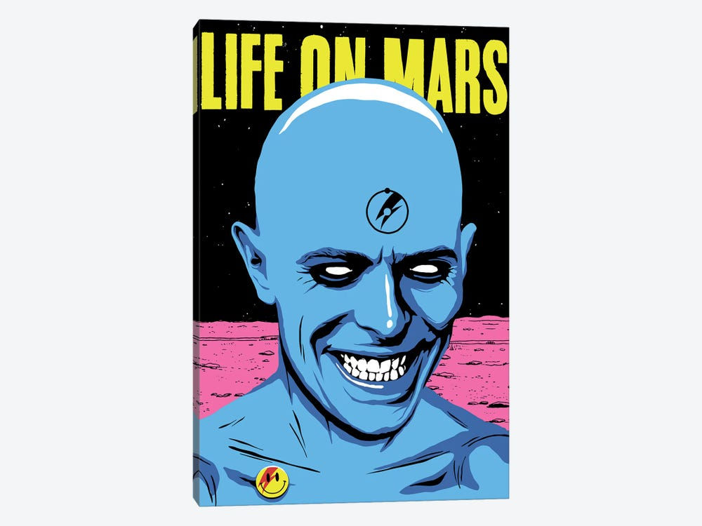 Life On Mars by Butcher Billy 1-piece Canvas Wall Art