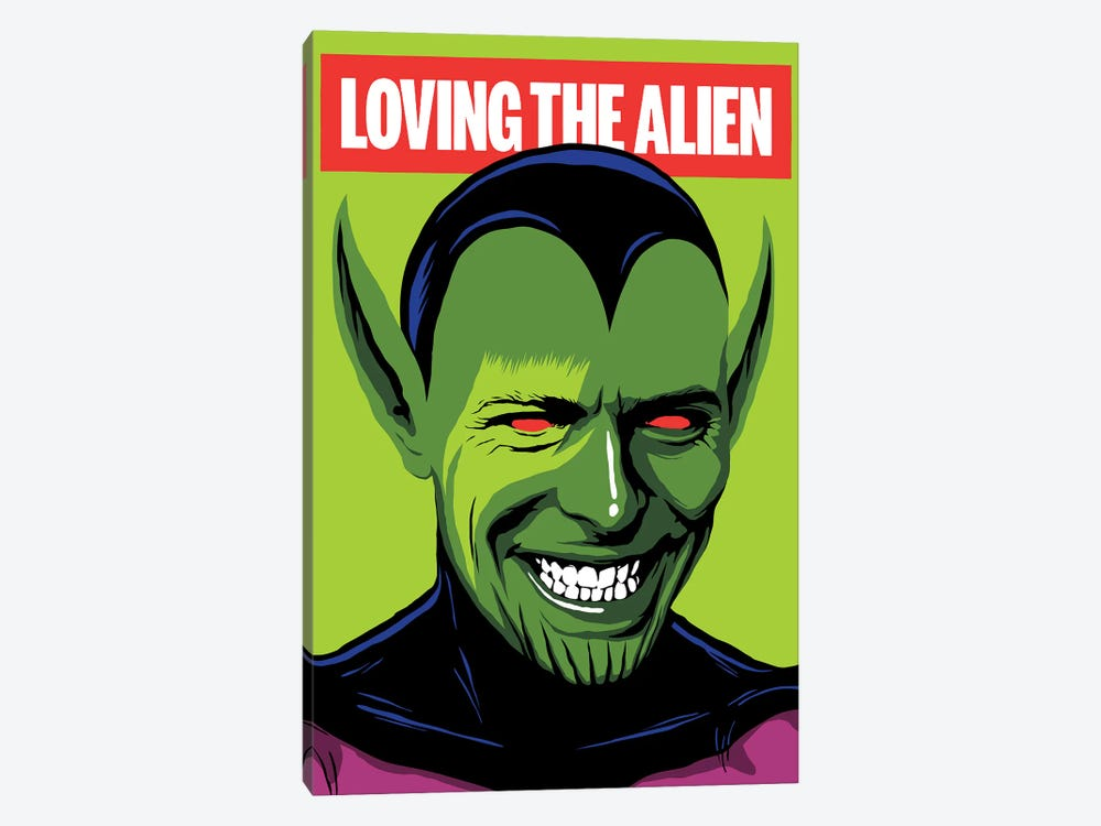 Loving The Alien by Butcher Billy 1-piece Canvas Artwork