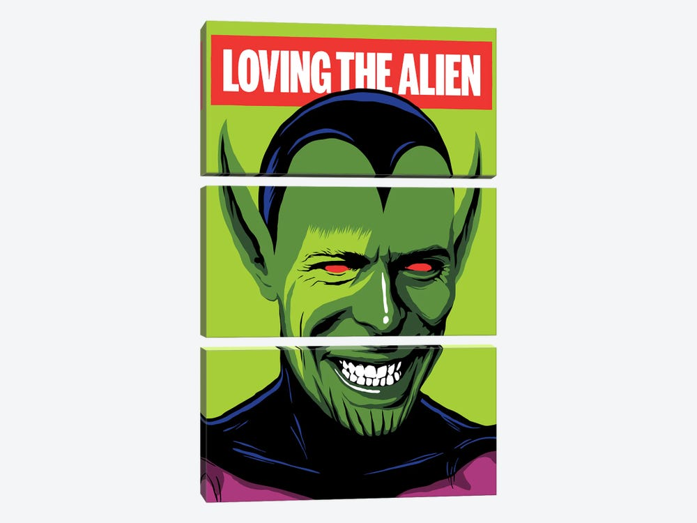 Loving The Alien by Butcher Billy 3-piece Canvas Art