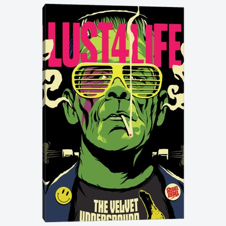 Lust 4 Life Canvas Print #BBY136} by Butcher Billy Canvas Wall Art