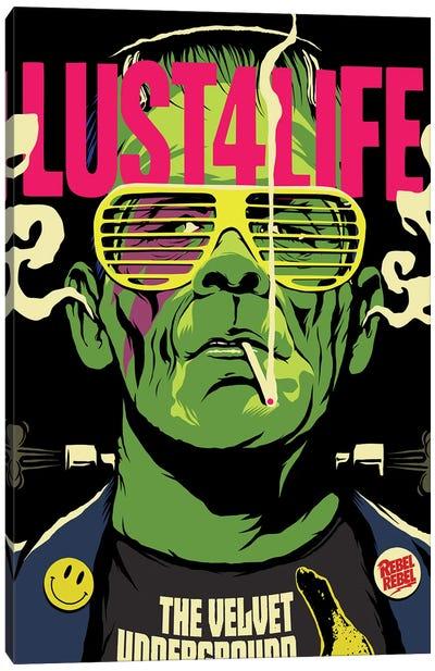 Lust 4 Life Canvas Print #BBY136