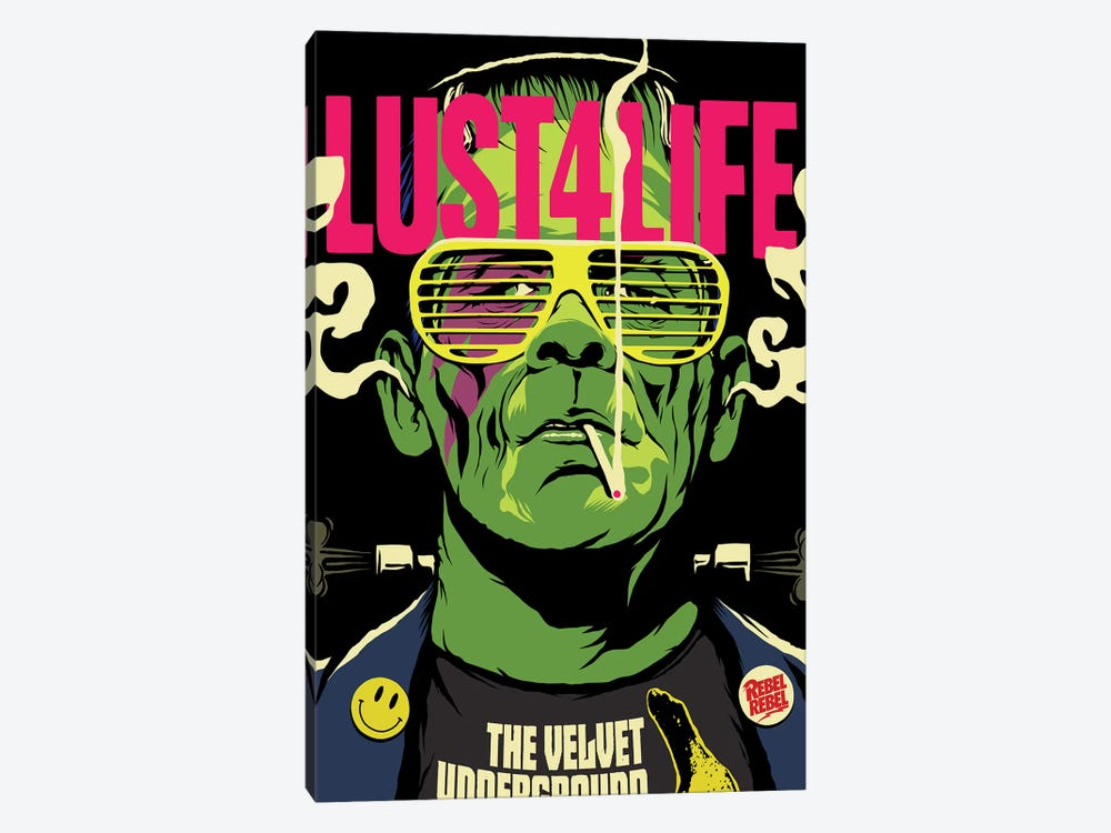 Lust 4 Life by Butcher Billy 1-piece Canvas Artwork