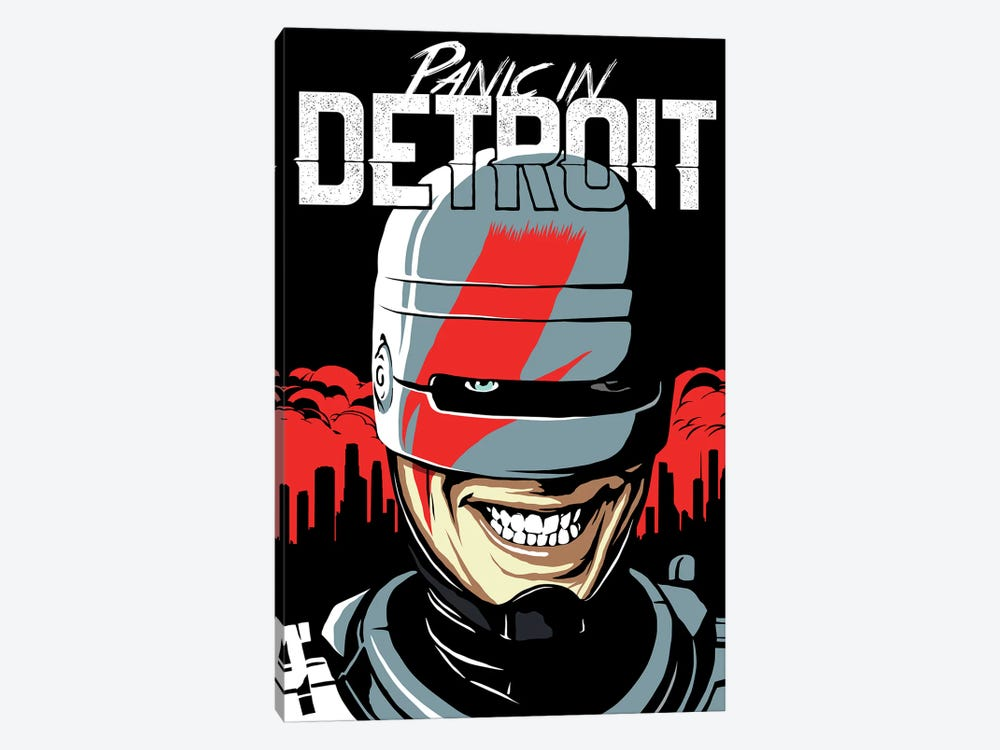 Panic In Detroit by Butcher Billy 1-piece Art Print