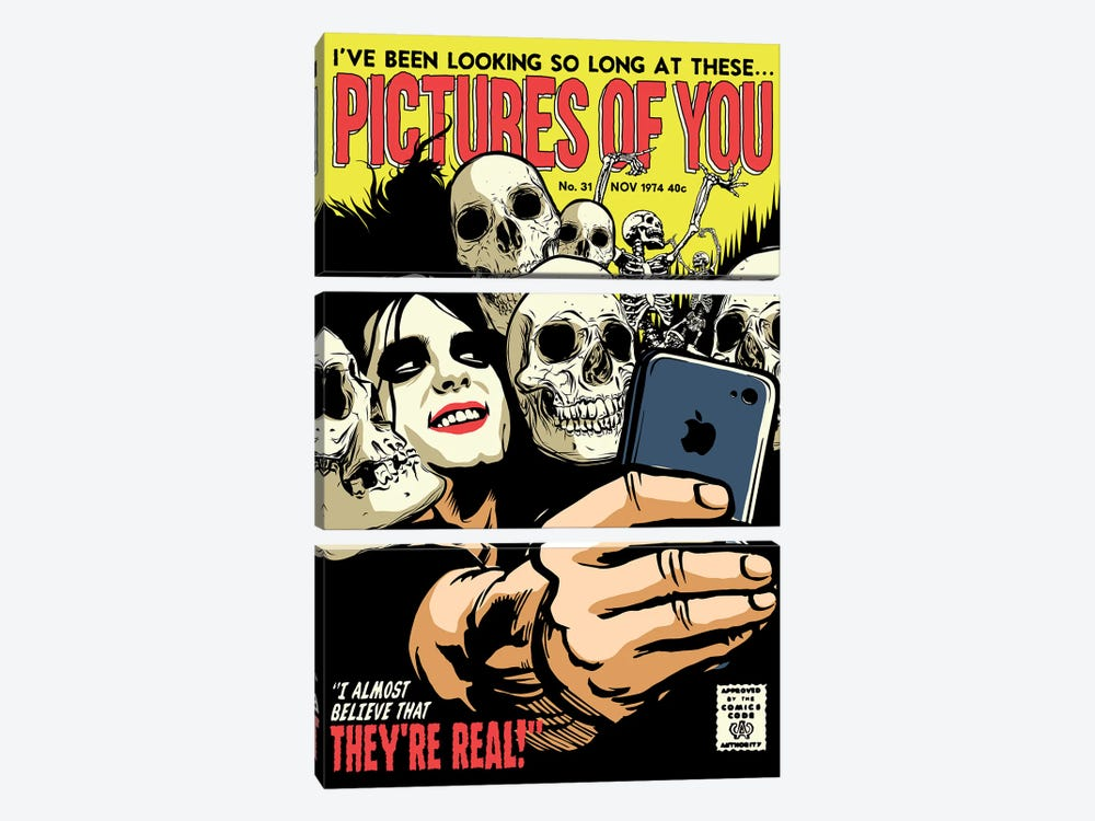 Pictures by Butcher Billy 3-piece Canvas Art Print