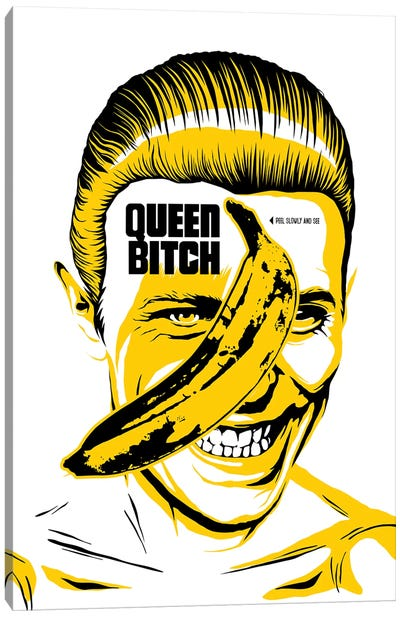 Queen Bitch Canvas Art Print