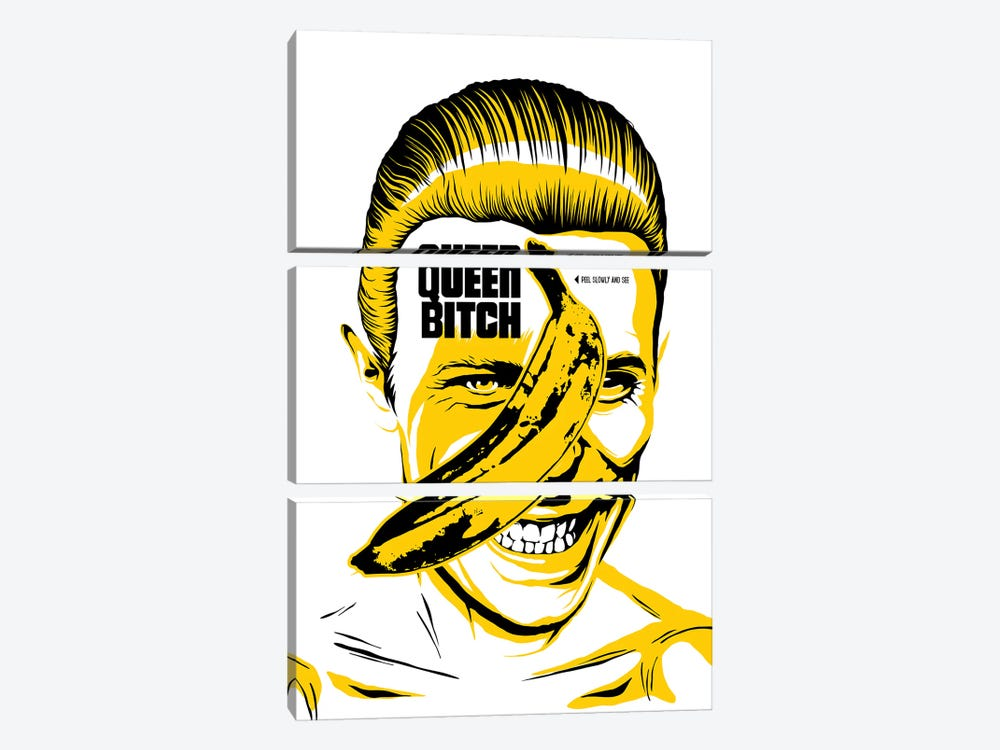 Queen Bitch by Butcher Billy 3-piece Canvas Wall Art