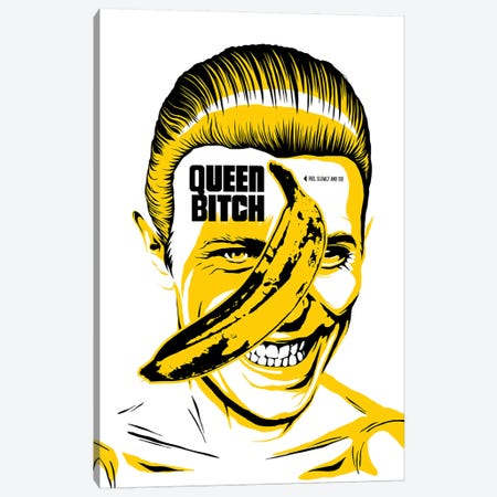 Queen Bitch Canvas Print #BBY141} by Butcher Billy Canvas Art