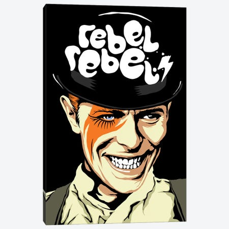 Rebel Rebel Canvas Print #BBY142} by Butcher Billy Canvas Artwork