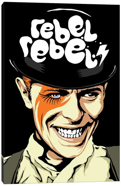 Rebel Rebel Canvas Art Print