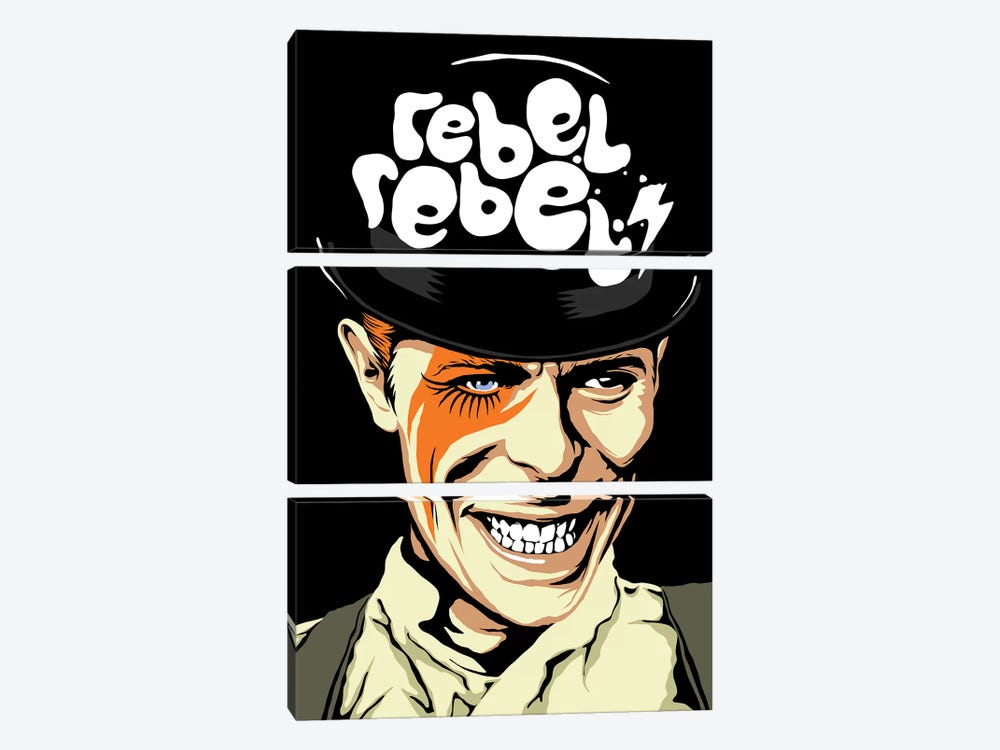 Rebel Rebel by Butcher Billy 3-piece Canvas Print