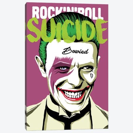 Rock 'n' Roll Suicide Canvas Print #BBY143} by Butcher Billy Canvas Wall Art