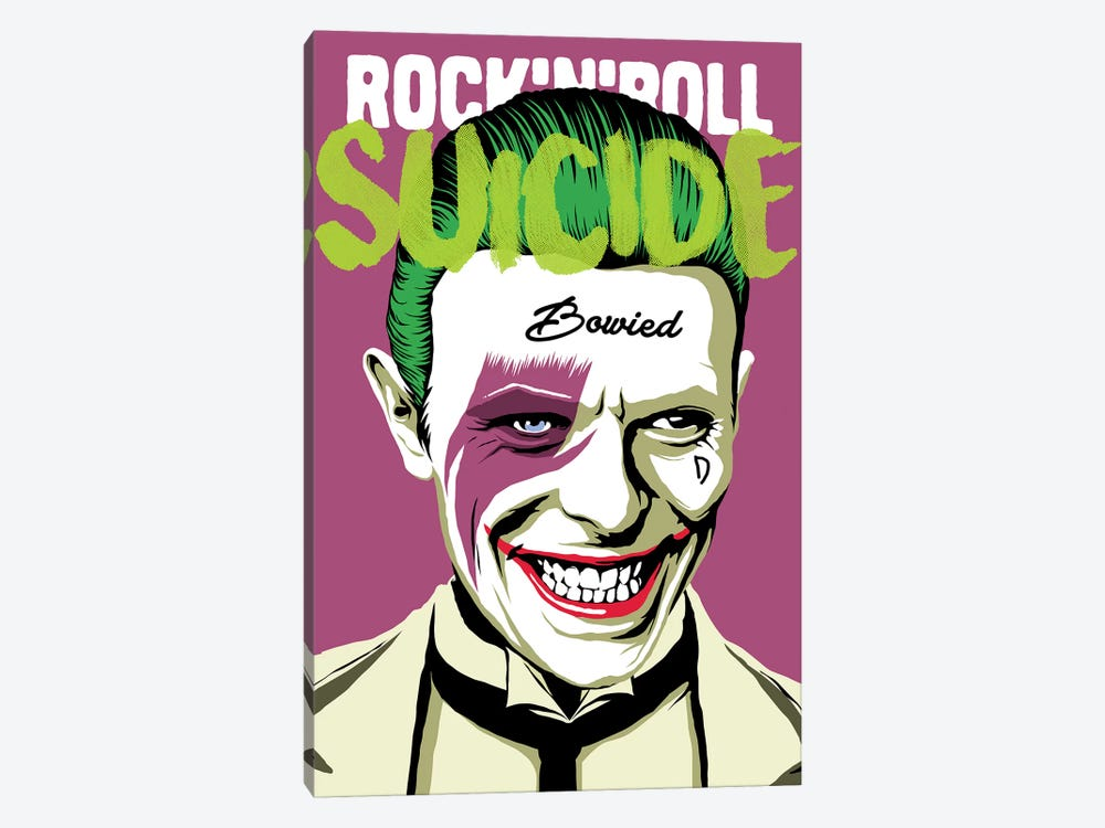 Rock 'n' Roll Suicide 1-piece Canvas Art