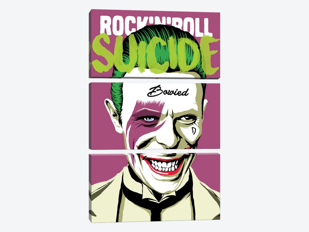 Rock 'n' Roll Suicide 3-piece Canvas Artwork