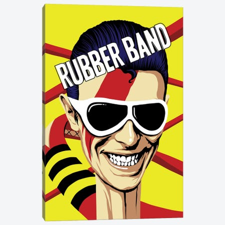 Rubber Band Canvas Print #BBY144} by Butcher Billy Art Print