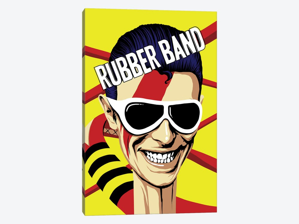 Rubber Band by Butcher Billy 1-piece Art Print