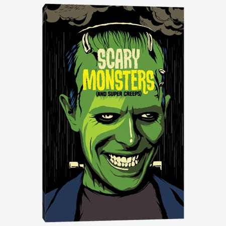 Scary Monsters Canvas Print #BBY145} by Butcher Billy Canvas Print