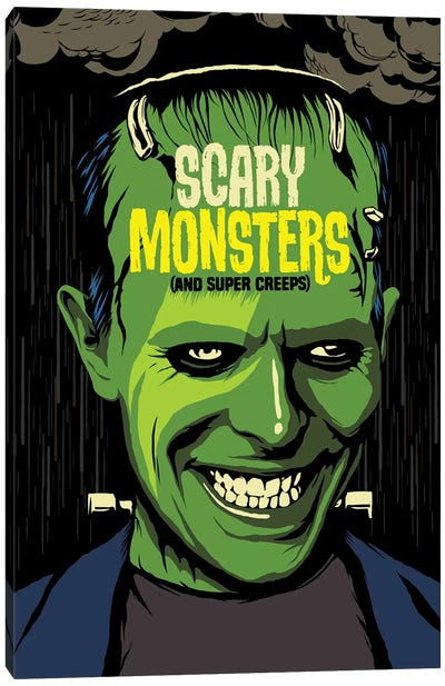 Scary Monsters Canvas Art Print