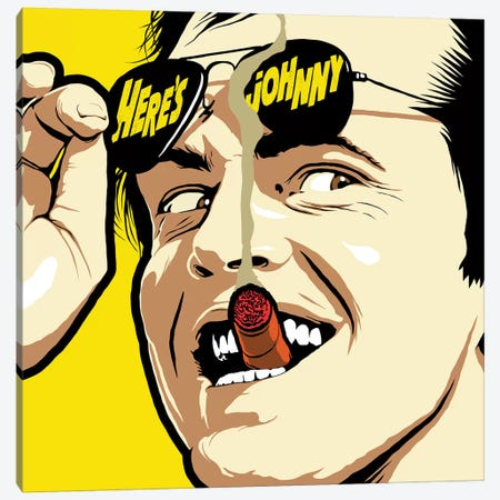Shining Sunglasses Canvas Print #BBY147} by Butcher Billy Canvas Art Print