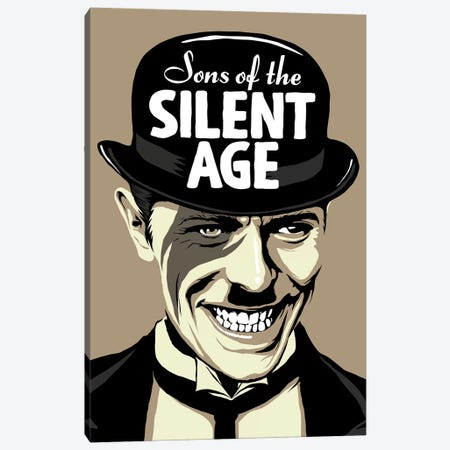 Sons Of The Silent Age Canvas Print #BBY148} by Butcher Billy Canvas Wall Art