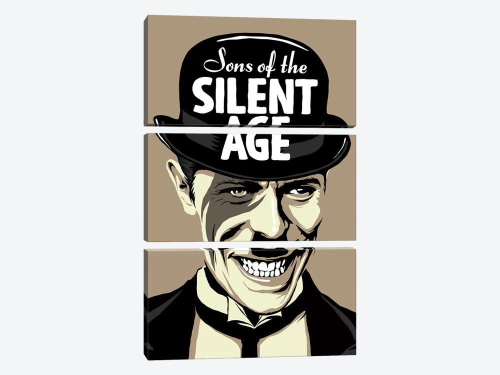 Sons Of The Silent Age by Butcher Billy 3-piece Art Print