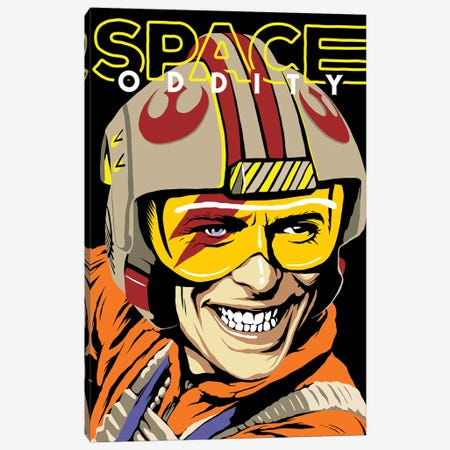 Space Oddity Canvas Print #BBY149} by Butcher Billy Canvas Artwork
