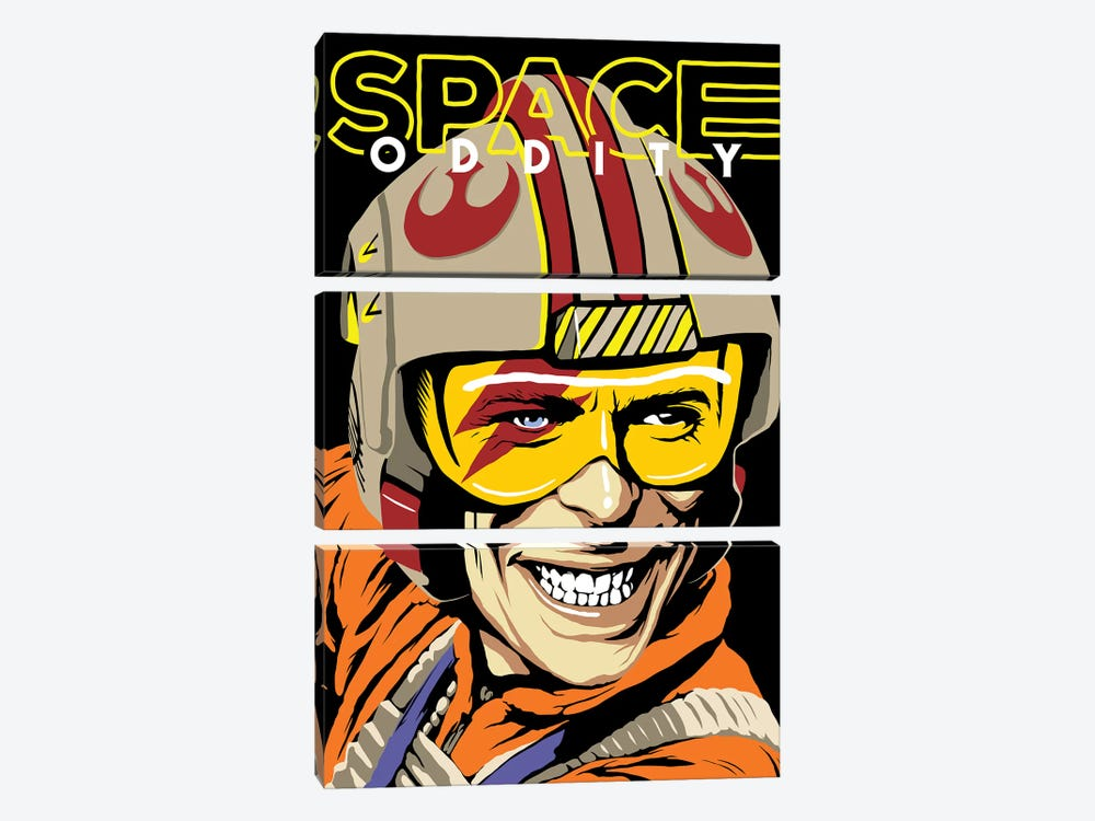 Space Oddity by Butcher Billy 3-piece Canvas Artwork
