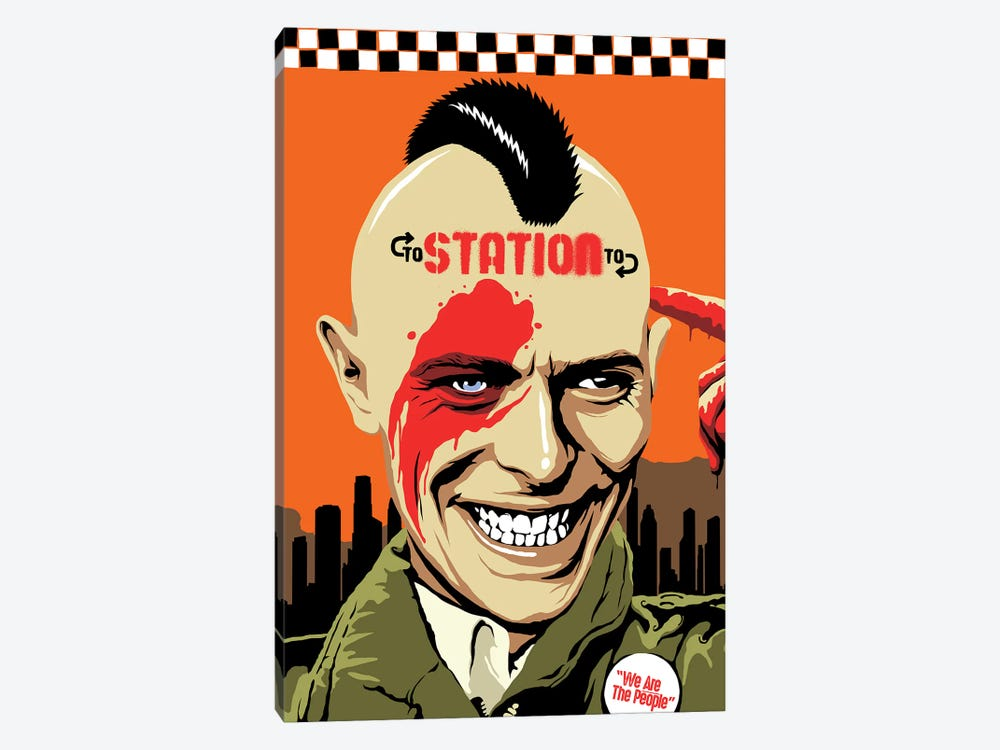 Station To Station by Butcher Billy 1-piece Canvas Art Print
