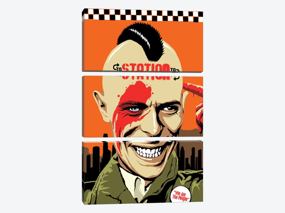 Station To Station by Butcher Billy 3-piece Canvas Print