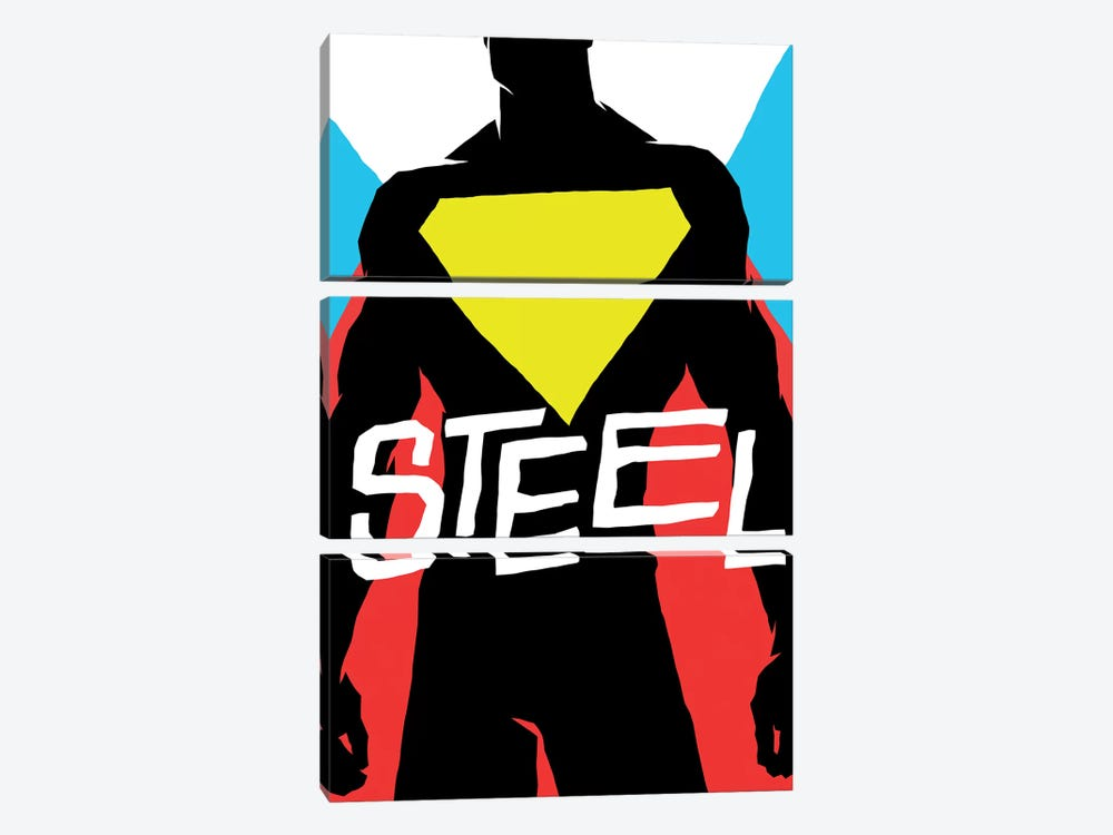 Steel 3-piece Canvas Art