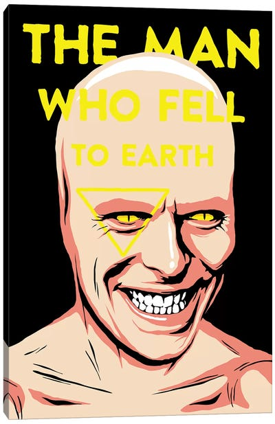 The Man Who Fell To Earth Canvas Print #BBY154